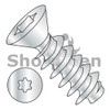 M1.6-0.67X8  Metric 6 Lobe Flat Head PT Alternative Fully Threaded Zinc & Bake (Box Qty 5000)  BC-M1.68PTTF