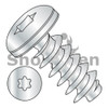 M2-0.89X6  Metric 6 Lobe Pan Head PT Alternative Fully Threaded Zinc & Bake (Box Qty 5000)  BC-M26PTTP