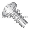 4-24X1/4  Phillips Pan Thread Cutting Screw Type 25 Fully Threaded 18-8 Stainless Steel (Box Qty 5000)  BC-04045PP188