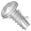 4-24X1/4  Phillips Pan Thread Cutting Screw Type 25 Fully Threaded 410 Stainless Steel (Box Qty 5000)  BC-04045PP410