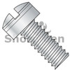 4-40X3/16  MS35265, Military Drilled Slotted Fillister MS Screw Coarse Thread Cadmium (Box Qty 500)  BC-MS35265-12