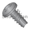 4-24X5/16  Phillips Pan Thread Cutting Screw Type 25 Fully Threaded Black Oxide and Oil (Box Qty 10000)  BC-04055PPB
