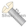 6-32X3/8  Slotted Oval Undercut Machine Screw Fully Threaded Zinc with Ivory Painted Head (Box Qty 10000)  BC-0606MSOUIV