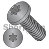 2-56X1/4  6 Lobe Pan Machine Screw Fully Threaded 18 8 Stainless Steel Black Oxide and Oil (Box Qty 5000)  BC-0204MTP188B