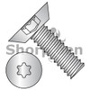 4-40X1/4  6 Lobe Flat Undercut Machine Screw Fully Threaded 18 8 Stainless Steel (Box Qty 5000)  BC-0404MTU188
