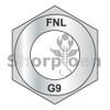 3/8-16  Coarse Thread Thick Hex Nut Grade 9 DFAR EcoGuard Gray/Silver 1,000 Hours Cor (Box Qty 2000)  BC-37NF9