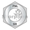 1/2-13  Coarse Thread Thick Hex Nut Grade 9 DFAR EcoGuard Gray/Silver 1,000 Hours Cor (Box Qty 750)  BC-50NF9