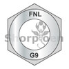 3/8-24  Fine Thread Thick Hex Nut Grade 9 DFAR EcoGuard Gray/Silver 1,000 Hours Cor (Box Qty 2000)  BC-38NF9