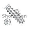 M6.3X10 Metric Phil Flat 7.0-7.3HD OD European Drawer Slide Screw Full Thread Zinc (Pack Qty 9,000) BC-M6.310DEPF