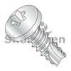 2-32X1/4  6 Lobe Pan Thread Cutting Screw Type 25 Fully Threaded Zinc and Bake (Box Qty 10000)  BC-02045TP