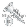 2-32X1/4  6 Lobe Flat Self Tapping Screw Type A B Fully Threaded Zinc And Bake (Box Qty 10000)  BC-0204ABTF