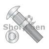 1/4-20X1/2  Ribbed Neck Carriage Bolt Fully Threaded Zinc (Box Qty 2000)  BC-1408CR