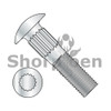 1/4-20X1  Ribbed Neck Carriage Bolt Fully Threaded Zinc (Box Qty 2000)  BC-1416CR