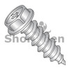 6-18X1  Phillips Indent Hex washer Self Tap Screw Type A Full Thread 18-8Stainless Steel (Box Qty 5000)  BC-0616APW188
