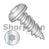 6-18X1  Six Lobe Pan Self Tapping Screw Type A Fully Threaded 18 8 Stainless Steel (Box Qty 4500)  BC-0616ATP188