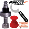 "Tow Pin - DO35 Kit - Standard (7/8"" - 22mm Shank)"