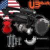 "DO35 - V3Plus (With Handbrake) w/Bolts (US Version 1"" Pin)"