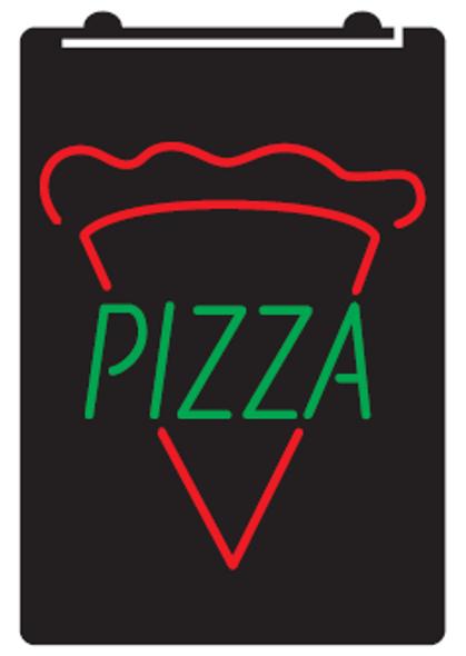 2 Color Pizza LED Sign