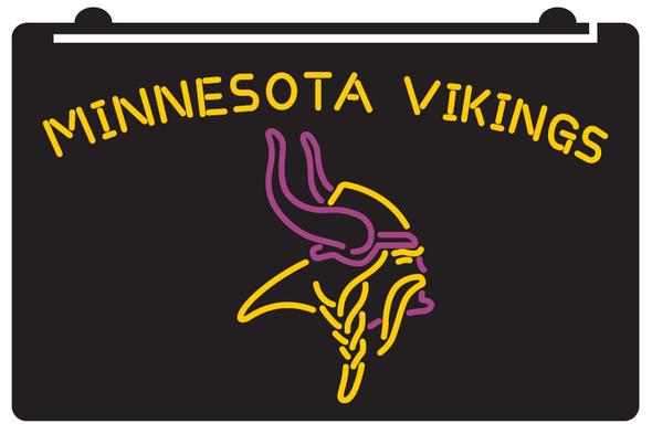 2 Color Minnesota Vikings LED Sign
