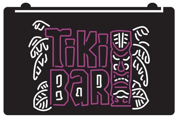 2 Color Tiki Bar LED Sign