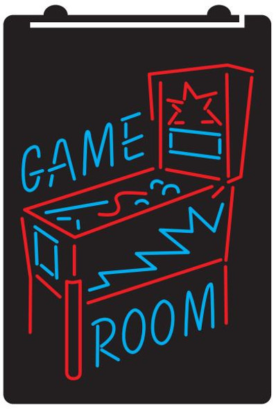Color Pinball Game Room LED Sign