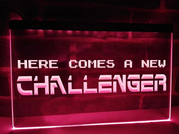 Custom Here Comes A New Challenger LED Sign