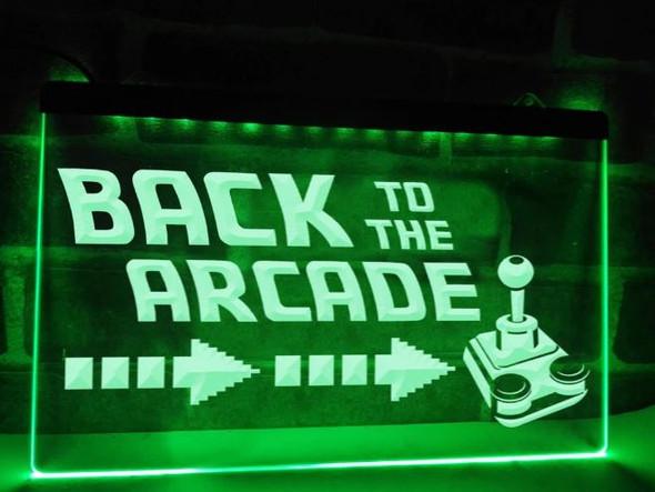 Custom Back To The Arcade LED Sign