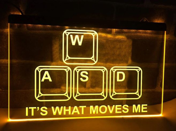 Custom Its What Moves Me LED Sign