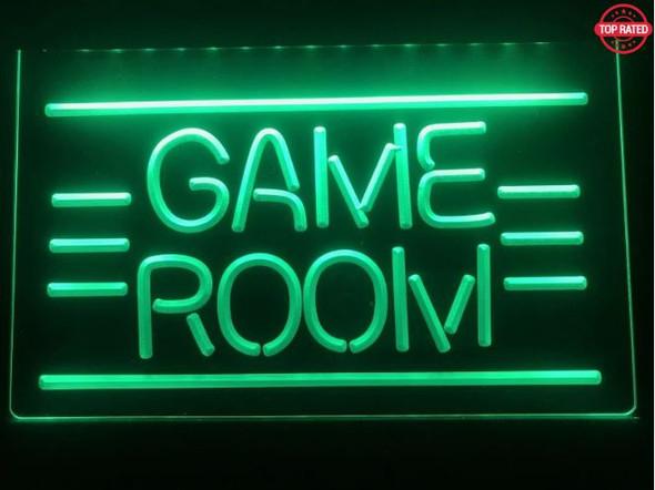 Custom Game Room LED Sign (D)