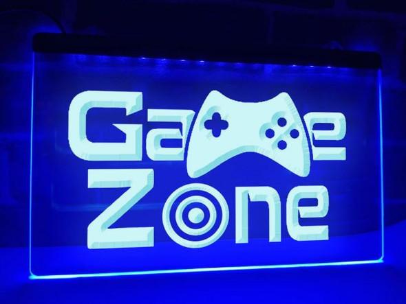 Custom Game Zone LED Sign (A)