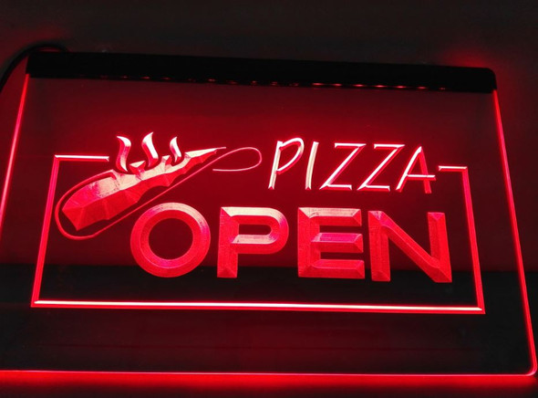 Pizza Open LED Sign (C)