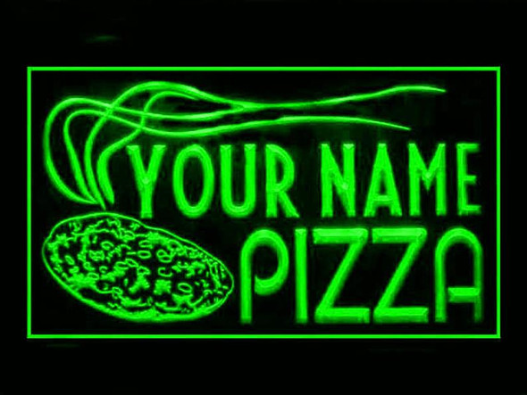 YOUR NAME CUSTOM Pizza LED Sign