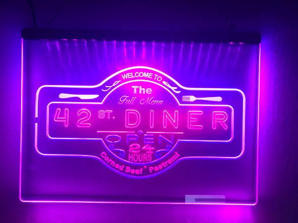 2 Color Big Daddy's Garage LED Sign