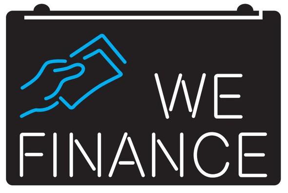 2 Color We Finance LED Sign (A)