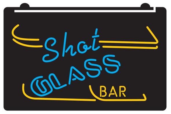 2 Color Shot Glass Bar LED Sign