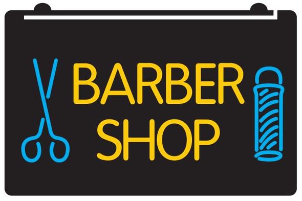2 Color Barber Shop LED Sign (B)