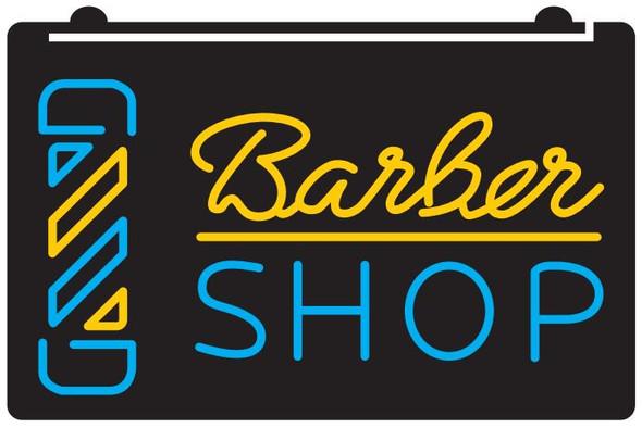 2 Color Barber Shop LED Sign (C)