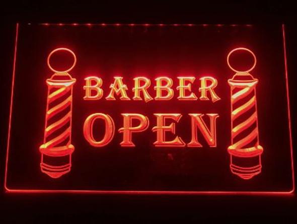 Barber Shop Open LED Sign (C)