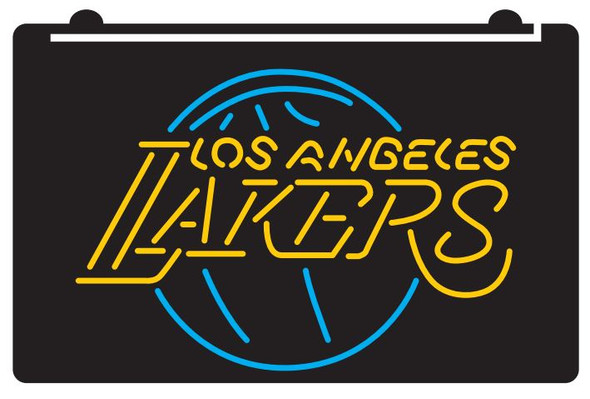 2 Color Los Angeles Lakers LED Sign