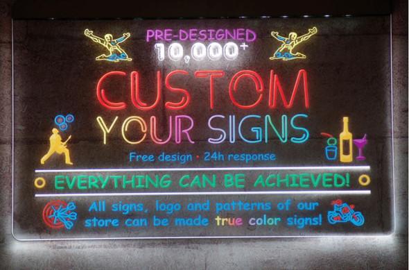True Color Unlimited Color LED Sign