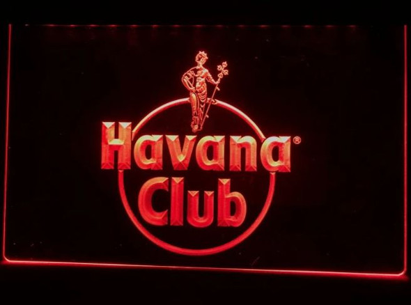 Custom Made Havana Club LED Sign
