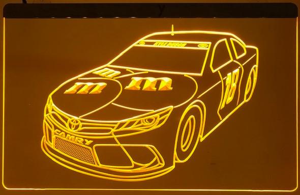 M&M Nascar Acrylic LED Sign