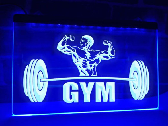 Custom Made Gym LED Sign