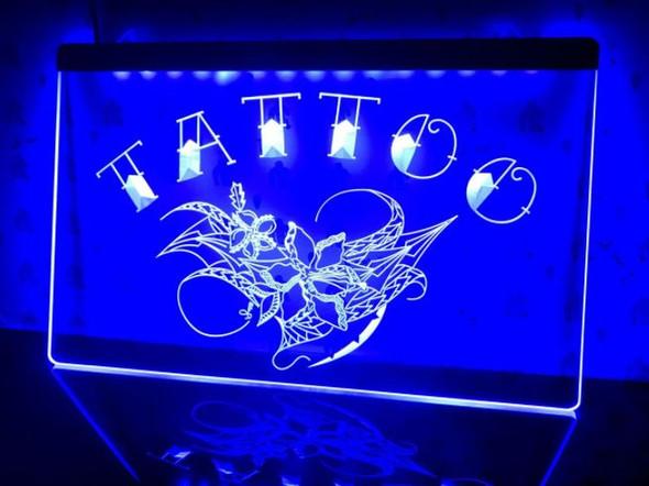 Custom Made  Tattoo LED Sign