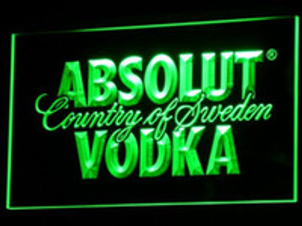 Absolute Vodka Acrylic LED Sign