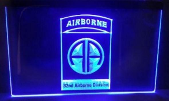 Airborne Acrylic LED Sign