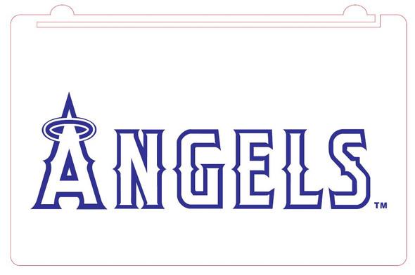 Custom Anaheim Angels Acrylic LED Sign