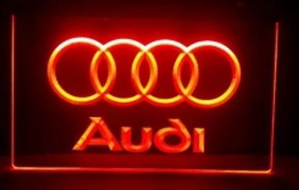 Audi Acrylic LED Sign