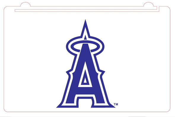 Custom Anaheim Angels Acrylic LED Sign (A)