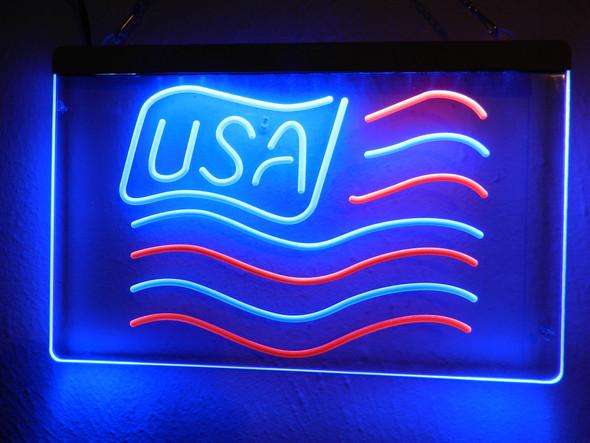 USA Flag LED Sign